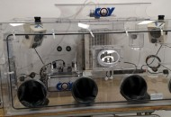 Dual Hypoxic Chamber with 2nd O2 Control cabinet located on the interior, Chiller and Microscope Port