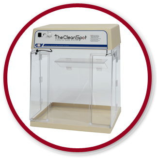 CleanSpot PCR Workstation by Coy Laboratory Products