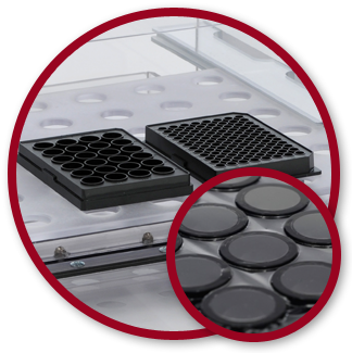Coy Laboratory Products' gas permeable plates