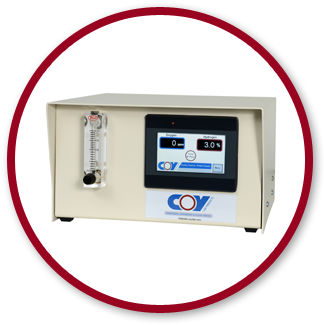 Coy anaerobic gas infuser